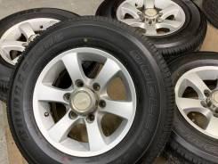 Berg R15 6*139.7 6j et22 + 195/80R15 Bridgestone Dueler H/T 2019 japan