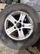 Продам летние шины 235/70r16 на литых дисках сверловка 5x139,7