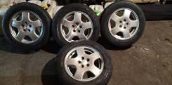 Комплект колёс 195/65R15 на оринальных дисках Subaru