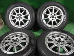 (Комплект 4919)Bridgestone Revo GZ 195/65R15+диски A-Tech X-Cross