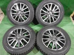 (Комплект 4856)Dunlop Winter Maxx WM01 205/60R16+диски Toyota Voxy
