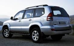 Крыло заднее правое Toyota Land Cruiser (GRJ120) Prado 2002-2009