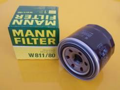 Фильтр масляный Mann Filter W81180 ( Германия ) Hyundai / Kia