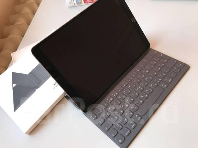 Apple ipad pro 10.5, 64gb, Wi-Fi, + чехол-клавиатура
