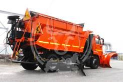 КамАЗ 65115. Комбинированная дорожая машина АДУ 8.0 Самосвал Камаз 65115. Под заказ