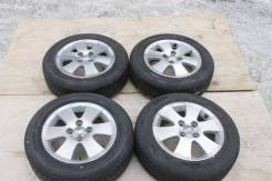 Комплект оригинальных дисков Toyota, с резиной