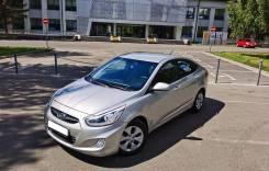 Hyundai Solaris. ПТС 2012 1,6 Акпп с кузовом седан серебристый