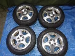 Колёса Subaru с зимней резиной Dunlop DSX 2 R15 195/60