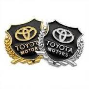 Наклейка. Toyota: Aurion, Crown, Land Cruiser, 1000, Calya, Aygo, Carina II, Agya, Avanza, Land Cruiser Prado, FJ Cruiser, Vellfire, 4Runner, Prius, C...