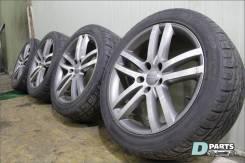 Комплект оригинальных дисков Audi Q7 4L с хорошей резиной