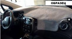 Накидка на панель приборов алькантара черный, для Toyota Camry (2011-2018)