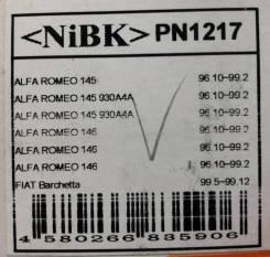 Колодки тормозные дисковые передние NiBK PN1217 комплект PN1217