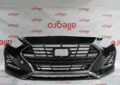 Hyundai Sonata 7 Хундай Хюндай Хендай Соната 7 бампер передний 2017+
