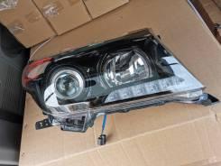 Тюнинг фары чёрные Brownstone для Toyota LAND Cruiser 200 LC200