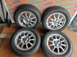 Продам литьё +шины 175/65R14 б/у из Японии