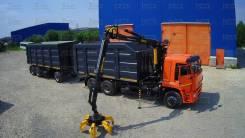 Бзап. Прицеп ломовоз ( металловоз) БЗАП 36 м.3, 20 000кг. Под заказ