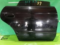 Дверь задняя правая Subaru Legacy B4 BE5 2002г 59.448км краска 18L