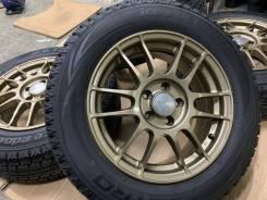 Enkei Rivazza Tuner R15 5*100 6.5j et50 Japan + 195/65R15 Dunlop Enasa