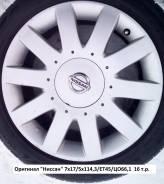 """Оригинальные колеса """"Ниссан"""" R17."""