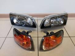 Фара Toyota Corolla AE110 Черный хрусталь ( Комплект )