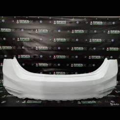 Бампер белый Hyundai Solaris 2017-2020 задний