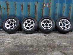 Комплект колес Weds 205/70R15 Dunlop Grandtrek PT3