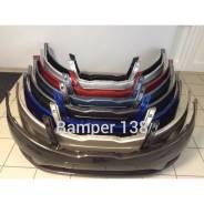 Бампер передний на KIA RIO в цвет кузова