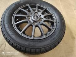 Продам одно колесо 155/65R13 на литье weds!