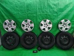Колеса Dodge Caliber (штамп+ колпаки + болты + резина 215/60R17)
