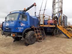 Барс. Агрегат подъемный для ремонта и бурения скважин БАРС-80, 14 860куб. см., 80 000кг.
