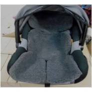 Накидка на детское кресло Econom (1 эл. серый мех)