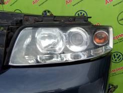 Фара левая (галоген) AUDI A4 B6 (01-04г)
