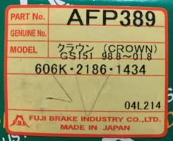 Колодки тормозные дисковые передние FBL AFP-389 комплект AFP389