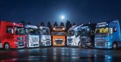 Контрактные запчасти на грузовики Volvo Mercedes