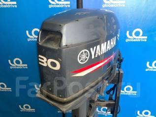 Yamaha. 30,00л.с., 2-тактный, бензиновый, нога S (381 мм), 2016 год