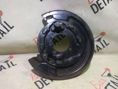 Кожух тормозного диска Toyota Avensis 2007 [4650405010] AZT251 2Azfse, задний левый 4650405010