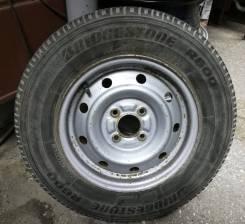 Б/У запаска 165R13LT 6 P. R. Bridgestone 5x13, 4x100 - 1 шт = 1000 руб.