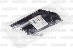 Комплект Пластиковых Хомутов 2.5 Х 160 Мм, 100 Шт, Нейлон, Черные PATRON арт. P25160B