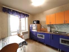 1-комнатная, улица Кола Бельды 5. Железнодорожный, агентство, 43,2кв.м.