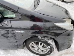 Крыло переднее правое черное (202) Toyota Prius ZVW30 91000km