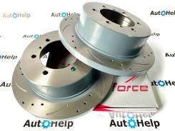 Диски тормозные задние перфорированные G-brake GFR-01141L   GFR-01141R