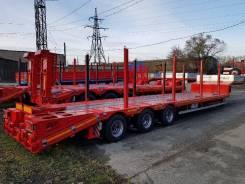 Hartung. Полуприцеп-тяжеловоз низкорамный 943003 40 тонн, 40 000кг.