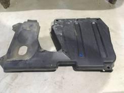 Нижние защиты глушителя и бензобака Honda Accord 2006 CL7 K20A, заднее правое нижнее