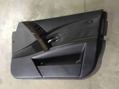 Обшивка двери Bmw 530I 2003 E60 M54B30, передняя правая