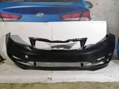 Kia Rio 3 2015-2017 бампер передний оригинал