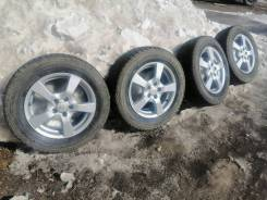 Комплект колес на 15 литьё с зимой