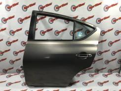 Дверь задняя левая цвет KAC Latio/Versa N17 2012г №84 Красить не надо
