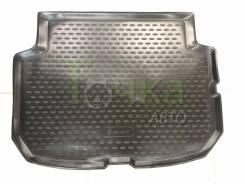 Модельный штатный коврик багажник для Nissan Leaf с 2009 - 2017/ AZE-0