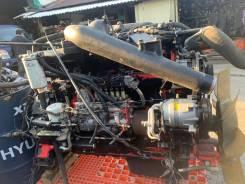 Тестовый Doosan DE12TI двигатель контрактный в сборе состояние нового DE12TI