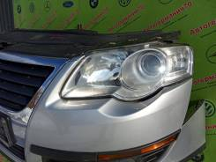 Фара левая (галоген) Volkswagen Passat B6 (05-10г) Hella
